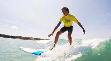 Surfing in Guernsey