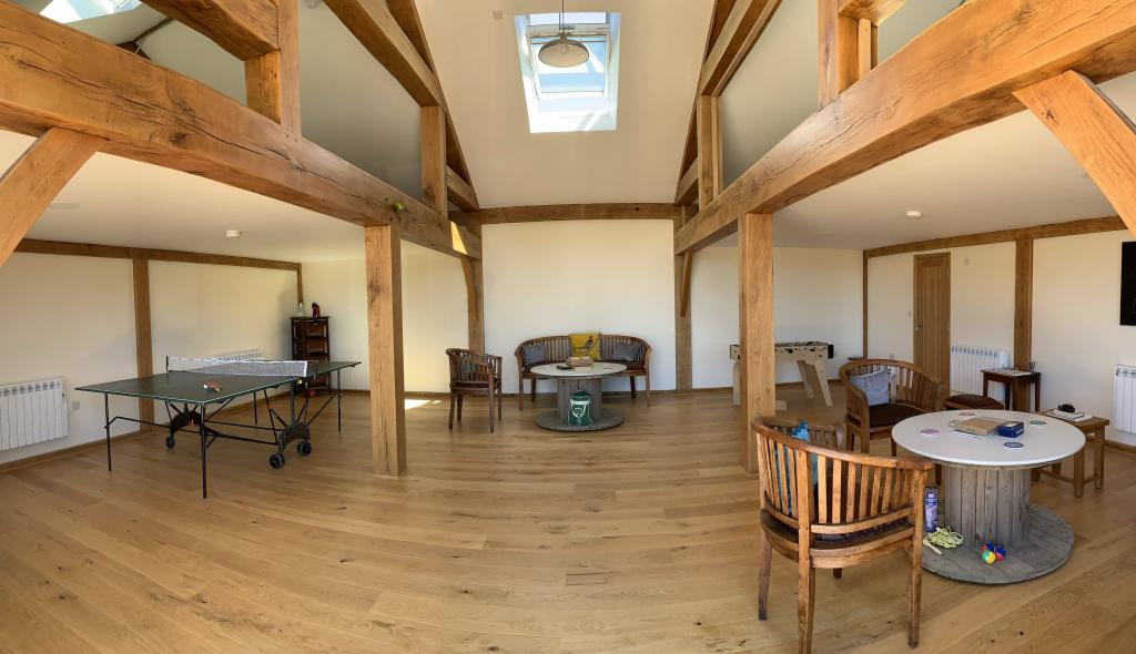 Games Room in Barn